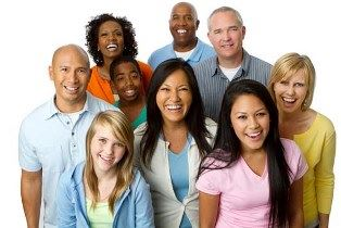 Picture of a group of multi-cultural / multi-ethnic people