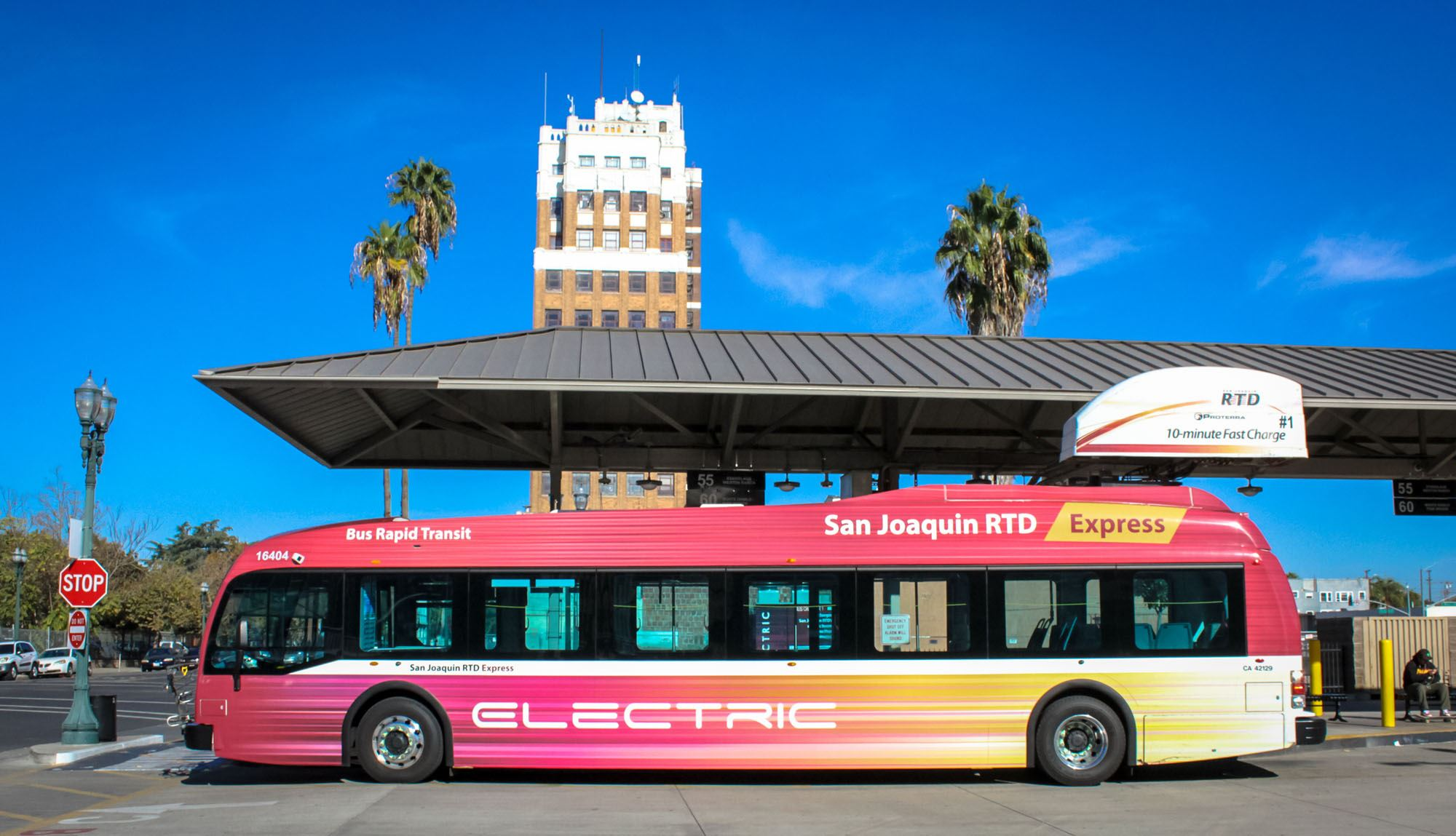 SJRTD Electric Bus
