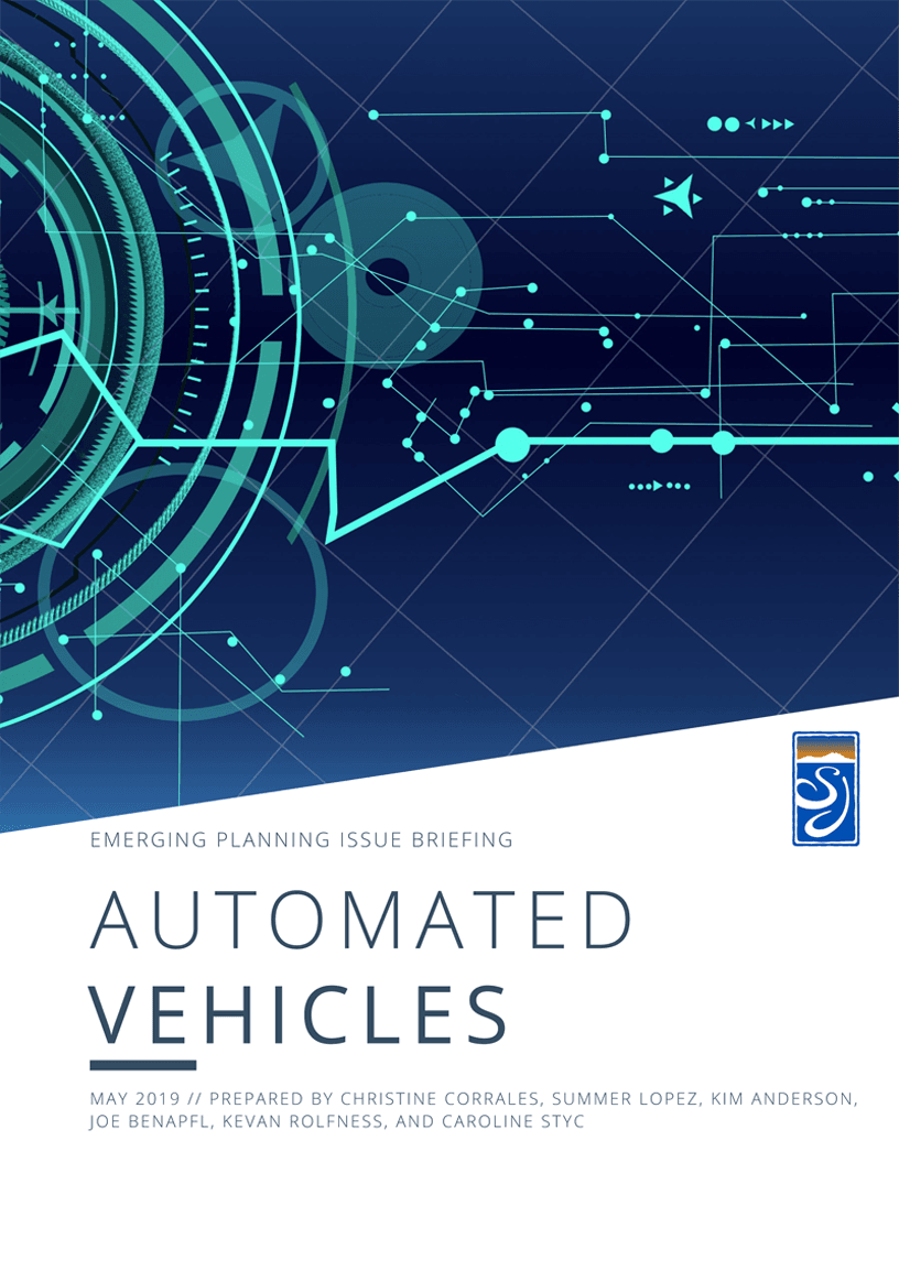 Automated Vehicles cover Opens in new window